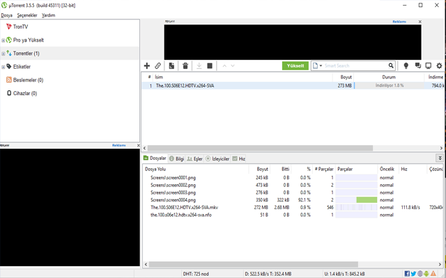 Utorrent web For Chrome 4