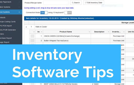 Inventory Software