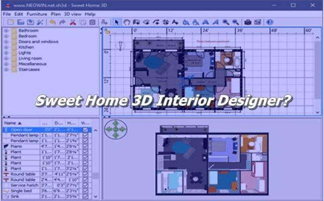 Sweet Home 3D Interior Designer