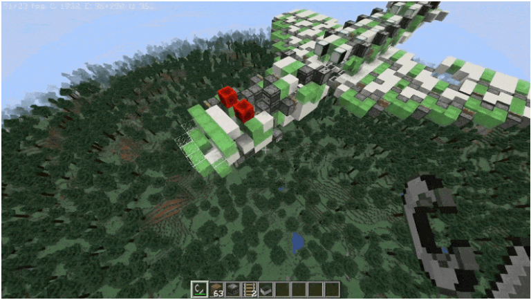 A Reddit User Designed a Working Aircraft from Minecraft (Video)
