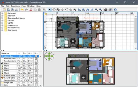 Sweet Home 3D interior designer Programs Download