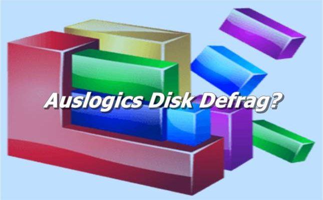Auslogics Disk Defrag For Windows Download