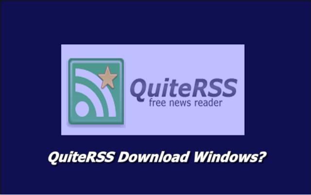 QuiteRSS Download Windows